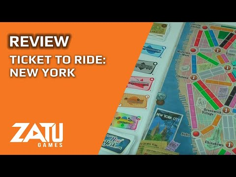 Ticket to Ride: New York Review