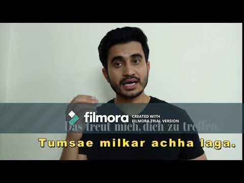 Hindi Lernen mit Jitender
