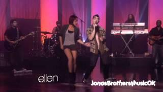 Joe Jonas -Just In Love live on ellen