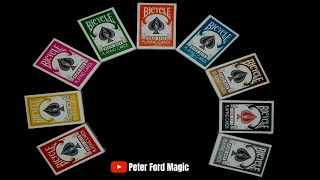 Full Bicycle Rider Back Playing Cards Review