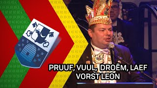 Pruuf, vuul, droëm, laef, vier vastelaovend - Vorst Leon - 25 februari 2020 - Peel en Maas TV Venray