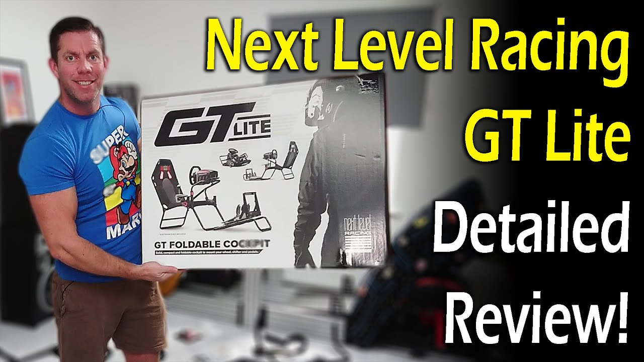 Karl Gosling: Next Level Racing GT Lite Review