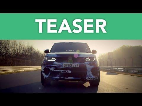 Teaser: Range Rover Sport SVR