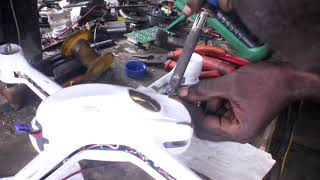 How to change motor in hubsan x4 h510s drone