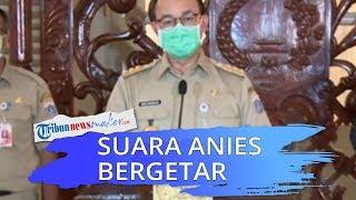 Suara Anies Baswedan Bergetar, 283 Warganya Meninggal Harus Dimakamkan dengan SOP Covid-19