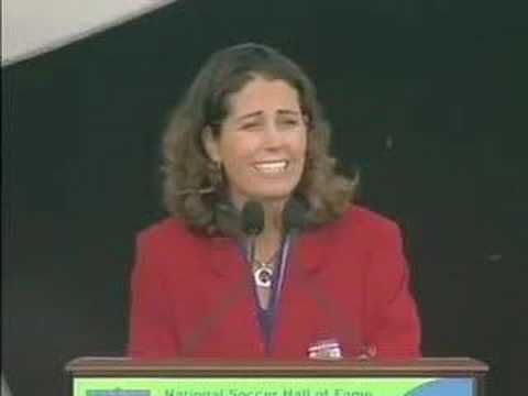 Julie Foudy Hall of Fame Induction Speech - 1 of 3