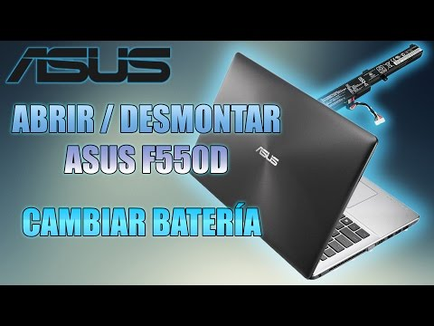 MAfixit | ASUS  | F550 | D | Reparar | Desmontar | Cambiar | Bateria