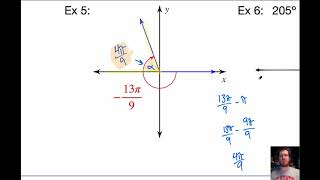 Flory PreCalc 4-B: Coterminal & Reference Angles And Special Right Triangles