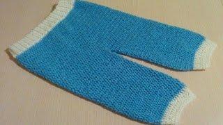 طريقة كروشيه سروال بيبي بمختلف المقاسات
