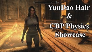 Skyrim SE - YunDao Hair and CBP Physics Showcase - SKSE64 2.0.15