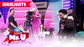 Vice and Jhong exchange tasks with It's Showtime staff | It's Showtime Mini Miss U