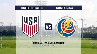 2016 U-20 Men's NTC Invitational: USA vs. Costa Rica