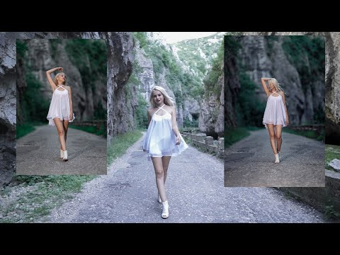Mountain photoshoot  with  Nicefoto N6 TTL  HIGH SPEED  SYNC Cheile Sohodolului Romania