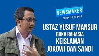 Ustaz Yusuf Mansur Buka Rahasia Keislaman Jokowi dan Sandi