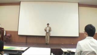 "Frank Lev - ""Don't Think, Just Move"" - Speech Contest - Busan, Korea 2011 [HD]"