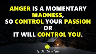 Anger Management | Keep Calm | Inspirational Quotes About Self Control