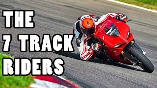 The 7 Motorcyclists You Will Meet at a Track Day