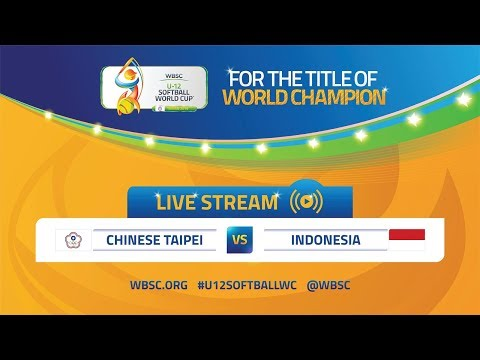 Chinese Taipei v Indonesia - U-12 Softball World Cup 2019 - Opening Round