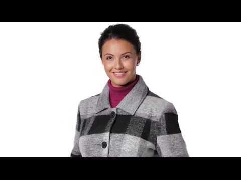 VIVI & LOU Damen Wollmantel - 233.792 | Personalshop