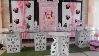 2018 - Decoracion Minnie Mouse - Candy Bar