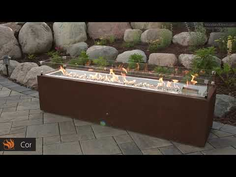 Cortlin Linear Gas Fire Pit