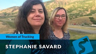 Celebrating Women In Trucking with Stephanie Savard: Reefer Truck Driver