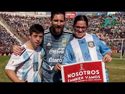 Fútbol Inclusivo junto a Messi