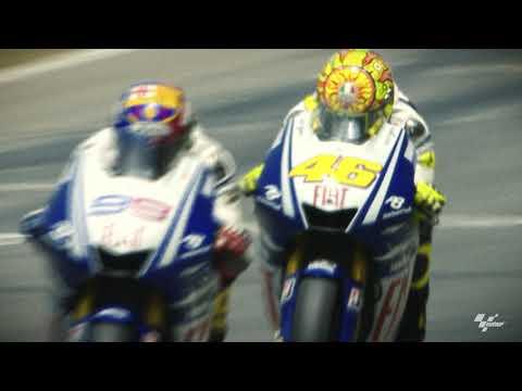 カタルニアサーキットで行われたMotoGPの歴代名シーンを集めたダイジェスト映像。MotoGPカタルニアGP直前に振り返る過去の名場面