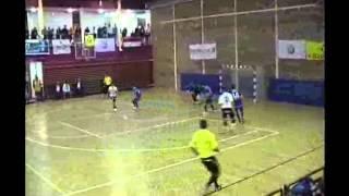 preview picture of video 'Dunakeszi Kinizsi - Vác Futsal 2012.11.09.'