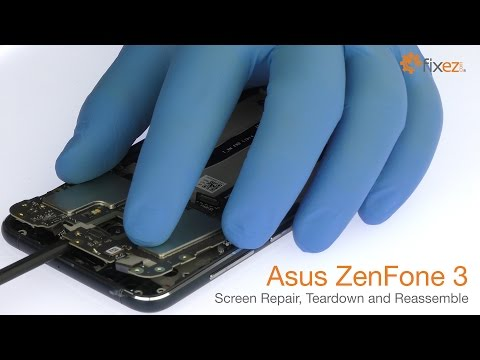 Asus ZenFone 3 Screen Repair, Teardown And Reassemble - Fixez.com Mp3