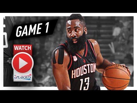 James Harden Full Game 1 Highlights vs Thunder 2017 Playoffs – 37 Pts 9 Ast 7 Reb MVP?