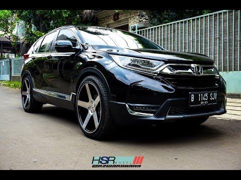 Modifikasi Honda CRV Menggunakan HSR Wheel CSR05