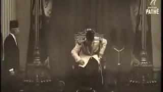 فيديو نادر حفل تنصيب الملك فاروق ملك على مصر والسودان