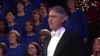 Andrea Bocelli &  the Mormon Tabernacle Choir~ The Lord's Prayer.flv