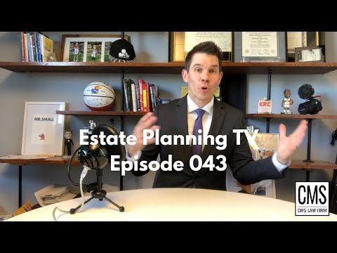 Should I Use My Full Federal Estate Tax Exemption Now?   Estate Planning TV 043