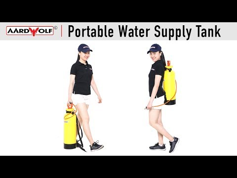Portable Water Supply Tank