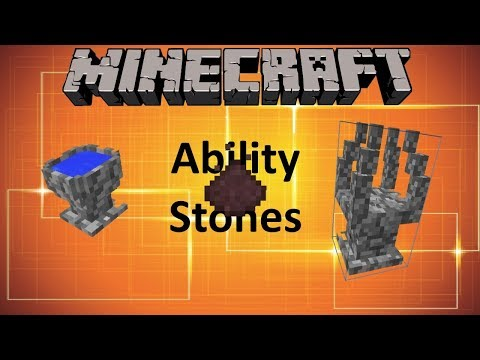 ABILITY STONES - MINECRAFT 1.12.2 (MOD SHOWCASE)