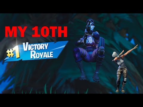 MY 10TH SOLO VICTORY ROYALE! (EPIC VIDEO)