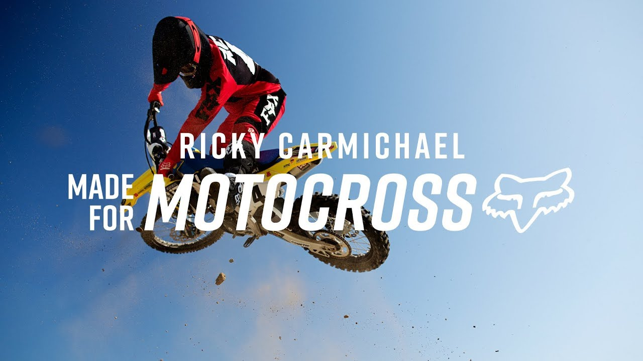 MX20 IS MADE FOR RICKY CARMICHAEL