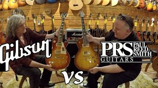 PRS 594 Vs. GIBSON Les Paul - Which Guitar Do You Like BEST?