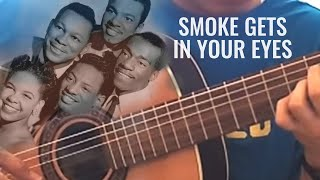 Smoke Gets In Your Eyes - The Platters (solo guitar cover)