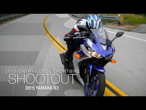 2015 Yamaha R3 - Entry Sport Shootout Pt 5 - MotoUSA