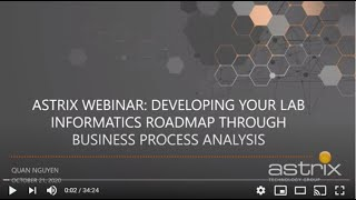 Developing your Informatics Roadmap Through Business Process Analysis