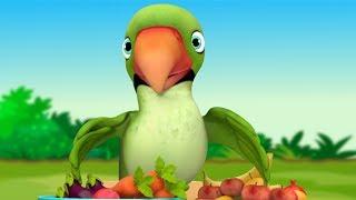 Main Tota Hindi Poem | Hindi Rhymes | मैं तोता मैं तोता | Kids Channel India | Hindi Nursery Rhymes