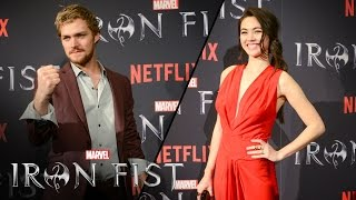Finn Jones & Jessica Henwick on Marvel's Iron Fist