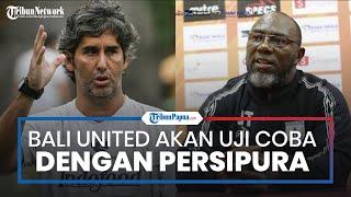 Sama-sama akan Tampil di Piala AFC, Bali United Rencanakan Gelar Laga Uji Coba dengan Persipura