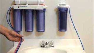 5 Stage Reverse Osmosis Installation Instructions