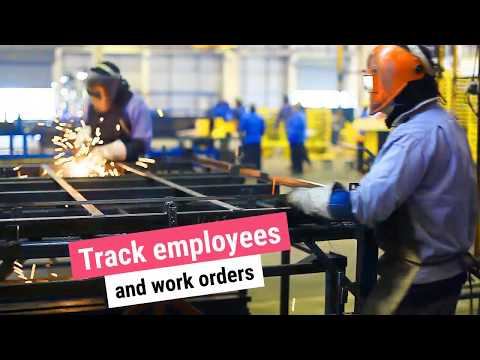Track Employee Time and Work Orders