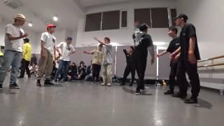 宇都宮大学【doocle】 vs 日本体育大学【Funka Beat Squad】 vs 東海大学【MUSTANG】 / DANCE@LIVE 2017 RIZE KANTO CLIMAX