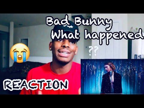 SOLO DE MI - BAD BUNNY (VIDEO OFICIAL) - REACTION/REACCION
